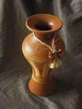 JARRON de barro, tamaño l, 48 cms. de alto, colores marrones