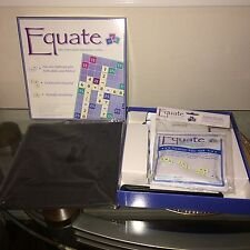 Equate The Equation Thinking Game by Conceptual Math Media Home Schooling NEW