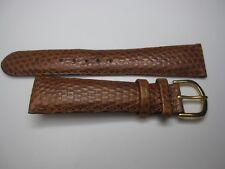 NOS Debeer Europa Lizard Grain Handcrafted Watch Wrist Band Strap (20mm)