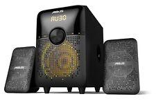 Axxis 2.1 Speaker 30W Wireless Audio. USB/SD/Coaxial Input. LED Display FM Radio