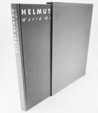 HELMUT NEWTON WORLD WITHOUT MEN  DELUXE SLIPCASE EDITION 1st SIGNED PHOTOGRAPHY