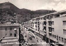 CASSINO: Badia di Montecassino vista dal Corso della Repubblica    1953