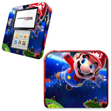 Super Mario Galaxy Vinyl Decal Skin Sticker for Nintendo 2DS Console