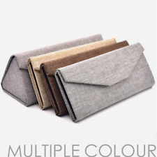 Foldable Sunglasses Glasses Case Box Eyewear Eyeglasses Protective Bag Textile