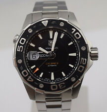 TAG Heuer Aquaracer Calibre 5 Automatic 500m Diver Watch WAJ2110