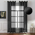 Home Tulle Sheer Window Screening Curtains Drapes Valances Bedoom Decor Tulle