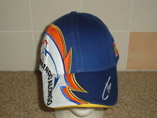 Official Alonso Signature Cap - Adult - B/N/W/T - Ideal Gift for Motorsport Fan