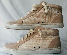 Dolce Vita  Sneakers Womens size 8 NEW  Zane Sand Lace Up Hi Top*reg.$130*