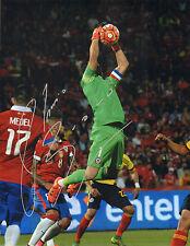 Claudio Bravo Signed Auto'D 11X14 Photo Chile Manchester City Copa America B