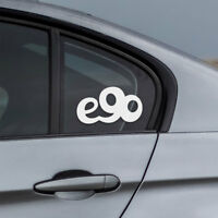 BMW e90 window windshield sticker drift sport stance decal