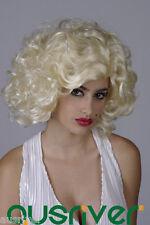 Fashion Sweet Lady Women Hair Full Wig Cos Marilyn Monroe Party Costume