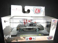 M2 Nissan Skyline GTR 1971 Matte Black 32500-JPN02 1/64 CHASE LTD 750 PCS