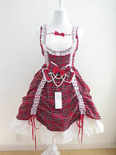 NEW Bodyline Lolita JSK Red Dress Size M (bo3)