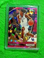 TYRESE MAXEY PRIZM ROOKIE CARD CRACKED PINK ICE 76ERS RC - 2020 PANINI PRIZM DP