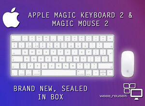 Apple Wireless Magic Keyboard 2 A1644 & Wireless Magic Mouse 2 A1657