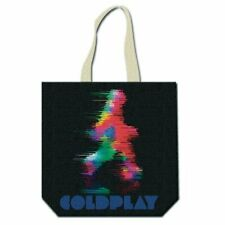 Coldplay Cotton Tote Bag: Fuzzy Man/ETIAW (with zip top)