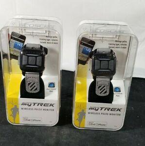 Scosche MyTrek My Trek Wireless Pulse Monitor Ipod iPhone Android Fitness x 2