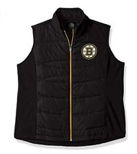 G-III 4her Boston Bruins Women's Wing Back Jacket Vest - Black