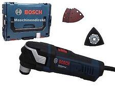 Bosch Multi Cutter GOP 40 30  + Schleifpapier Set 5 tlg. + Grundplatte Klett