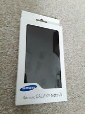 Genuine Samsung Galaxy Note 3 Flipcover Black
