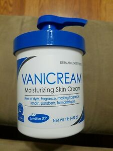 Vanicream Moisturizing Skin Cream With Pump Dispenser 1 Pound new