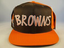 Kids Youth Size NFL Cleveland Browns Vintage Snapback Hat Cap American Needle