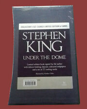 Under the Dome Stephen King Signed Limited Slip-cased Ed. 1/500 Brand New Sealed