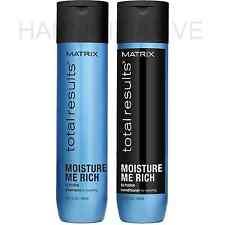 NUOVO MATRIX TOTAL RESULTS Moisture me ricco Shampoo e balsamo 300ml