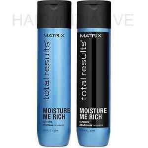 Matrix NEW Total Results Moisture Me Rich Shampoo and Conditioner 300ml
