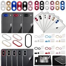 Protector Aro Metal Funda Lente De La Cámara Antipolvo Para iPhone X 8 7 Plus 6S