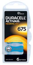 1 Blister Duracell Hörgerätebatterien Knopfzelle Hörgerät Batterie Typ 675