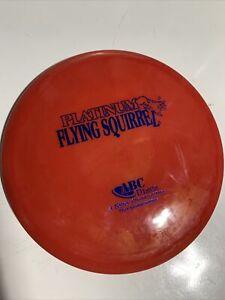 NEW ABC Discs Platinum FLYING SQUIRREL 176g (understable mid-range, Red, OOP)