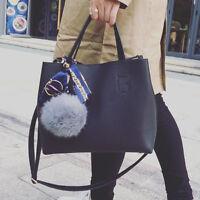 2017 New Women PU Leather Shoulder Bag Hobo Tote Purse Messenger Satchel Handbag