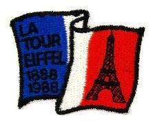 ECUSSON BRODE EMBROIDERED PATCH CENTENAIRE LA TOUR EIFFEL PARIS