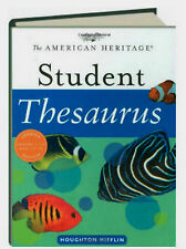 The American Heritage Student Thesaurus by Susannah LeBaron (2006, Hardcover)