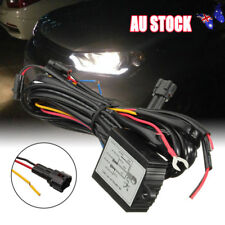 LED Daytime Running Light DRL Relay Harness Auto Control On/Off Switch kit AU
