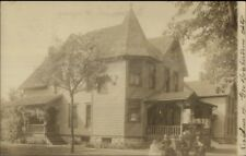 Watertown NY Brightstrom Home c1910 Real Photo Postcard jrf