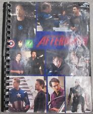 "Avengers Fanzine ""Aftermath"" SLASH A Steve/Tony Novel"