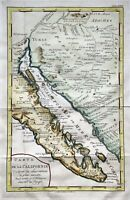 "1777 ""Carte de la Californie"" map of Southwestern United States & Mexico"