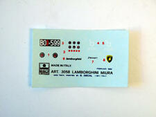 Esci 3058 Lamborghini Miura Vintage Decal modellismo