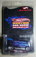 Hot Wheels 2007 Custom Car Show Osaka Japan VW DRAG BUS w Real Rider Redlines!