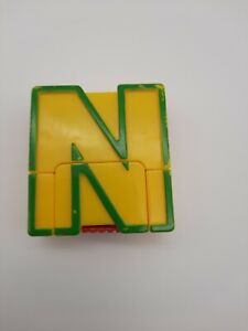 """Lakeshore Alpha Bots Replacement Letter  """"N""""  Transforms to Robot"""