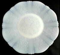 Antique Vintage Depression Glass Art Deco Opalescent Opal Glass Plate Gift Home