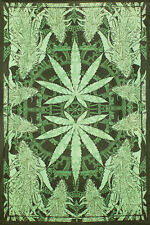 TA36 - Hempest Tapestry Cannabis Leaf Large Cotton Tapestry