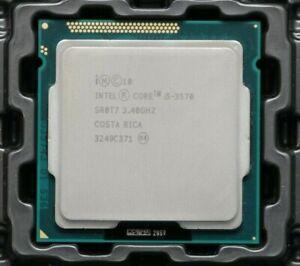 Intel Core i5-3570 3.40GHz [ 3.80GHz ] Quad-Core IVY BRIDGE Processor SR0T7