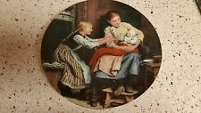 Albert Anker Collector Plate The First Smile Mother Baby Suisse Langenthal 1986