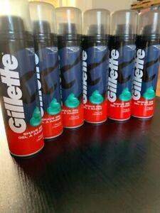 6 x Gillette Shaving GEL REGULAR 200ml (CHEAPEST!!!!) (NEW)