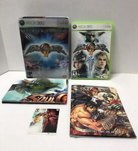 Soul Calibur IV 4 Premium Edition Xbox 360 Metal Case/Sleeve + Game + Art Print
