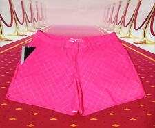 NIKE Women's Golf shorts dri fit Pink Sz.2-10 new FREE SHIPPING