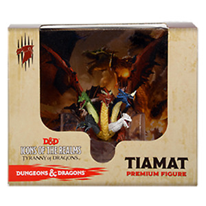 D&D Icons of the Realms - Tiamat + Bahamut Premium Figure - Dungeons and Dragons